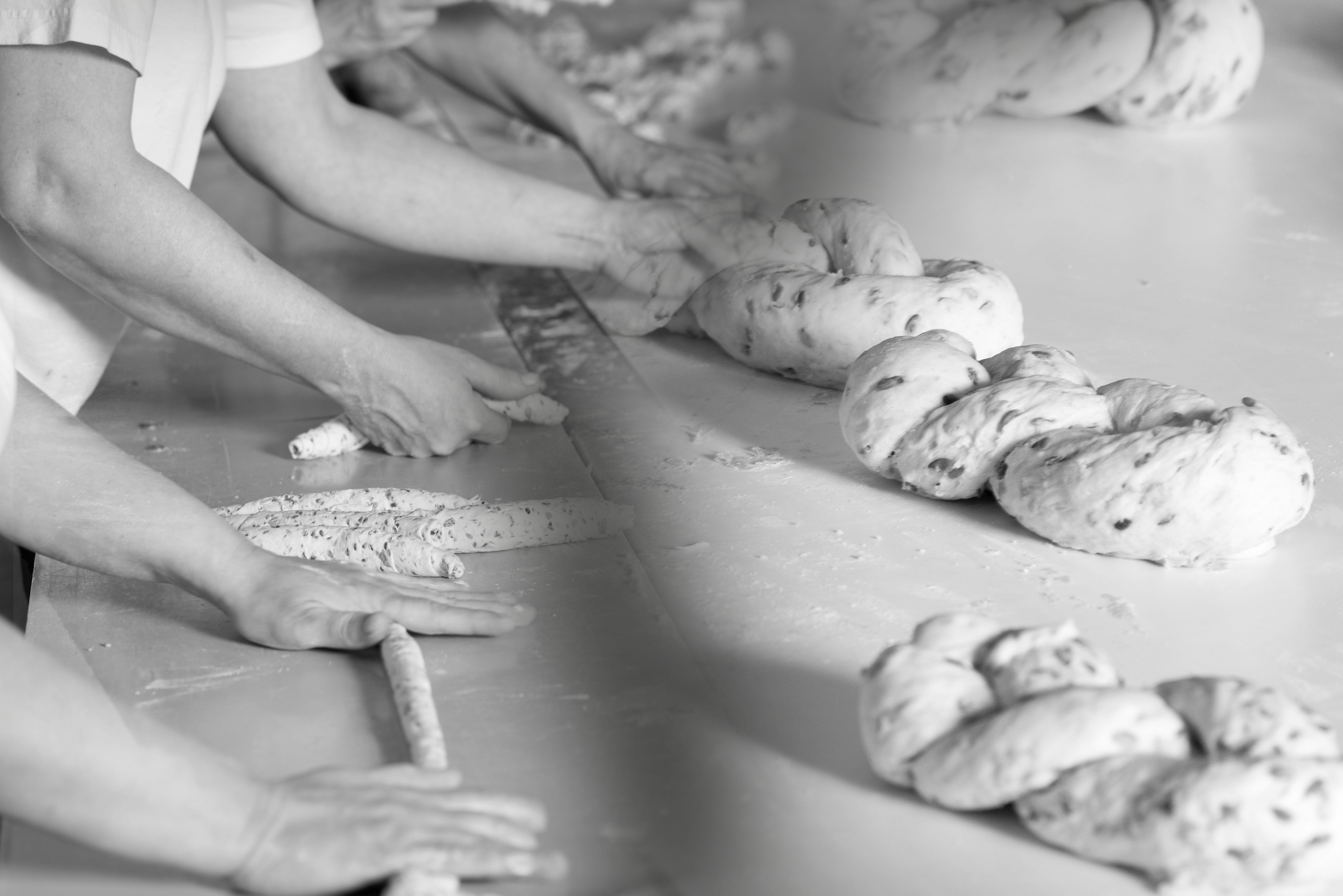 SEMAG pekárna, výroba pletýnek